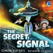 Hal Junior: The Secret Signal (Audiobook) cover art (c) Simon Haynes