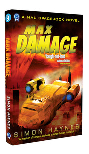 Hal Spacejock 09 Max Damage cover art (c) Bowman Press