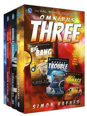 Hal Spacejock Omnibus Three cover art (c) Bowman Press