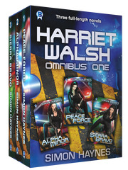 Harriet Walsh Omnibus One cover art (c) Bowman Press